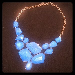 Royal Blue Statement Necklace